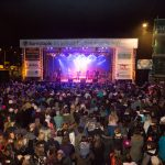 The Overtones Perform at Barnstaple Christmas Light Switch On